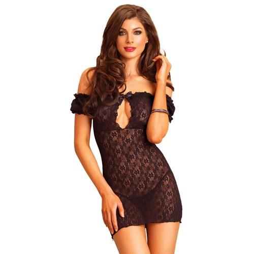 black-lace-off-the-shoulder-chemise-500×500