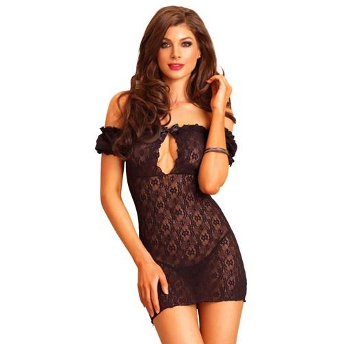 black-lace-off-the-shoulder-chemise-500×500