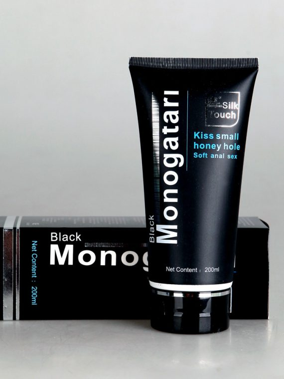 Black-Monogatari-Lubricants-Cheap-200ML-Sex-Lube-for-Lovers-Silk-Touch-Kiss-Small-Honey-Hole-Hot